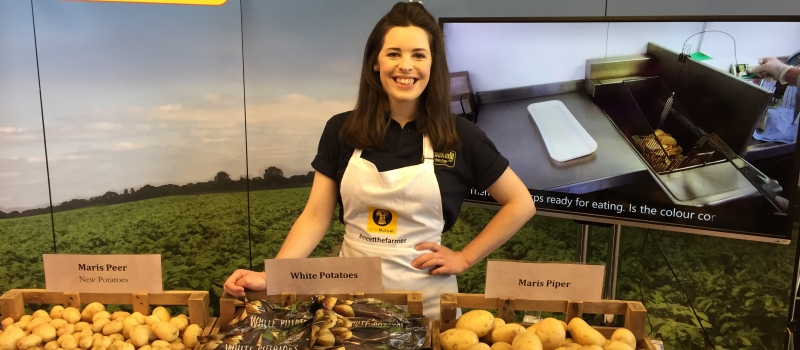 future farmer Allie Hesketh Vice Chair Future Farmers of Yorkshire